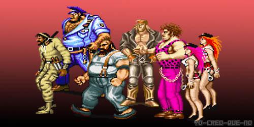 Enemigos del Final Fight